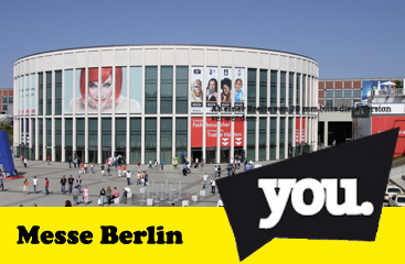 YOU Berlin 2018 - Messe Berlin - 23.06.2018 – 24.06.2018 - Messe - Alecsa Hotel Berlin