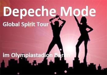 Depeche Mode – Global Spirit Welttour 2018 – 1. Konzert am 23.07.2018 - Berliner Waldbühne - 23.07.2018 – 24.07.2018 - Konzert - Alecsa Hotel Berlin