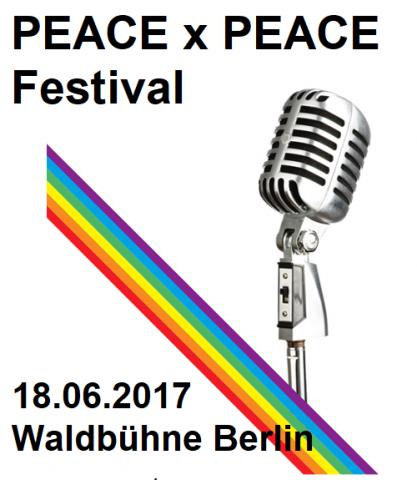 PEACE x PEACE Festival 2017 in der Berliner Waldbühne - Waldbühne - 19.06.2017 - Konzert - Alecsa Hotel Berlin