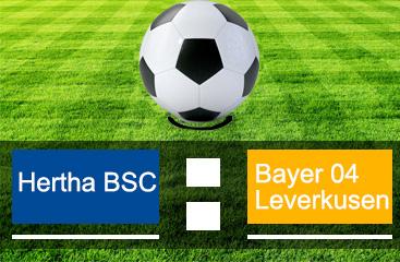 HerthaBSC_Bayer 04 Leverkusen
