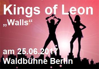 "Kings of Leon ""Walles"" Live in der Waldbühne Berlin am 25.06.2017 - Waldbühne - 26.06.2017 - Konzert - Alecsa Hotel Berlin"