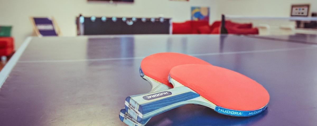 Alecsa Hotel am Olympiastadion - Tischtennis