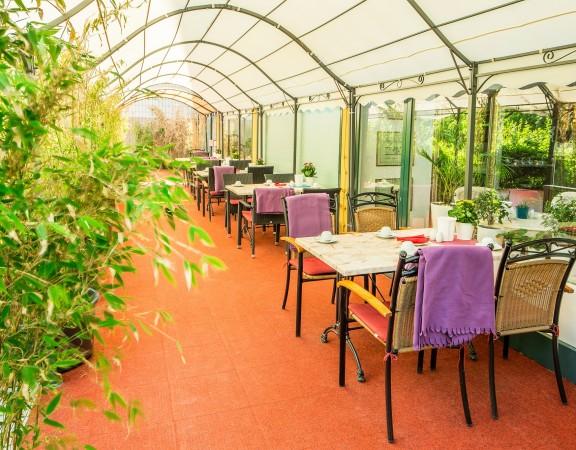 Alecsa Hotel am Olympiastadion - terrace 1